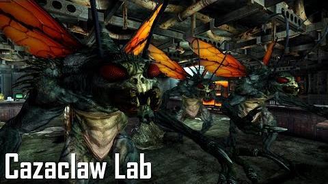 New Vegas Mods Cazaclaw Lab!
