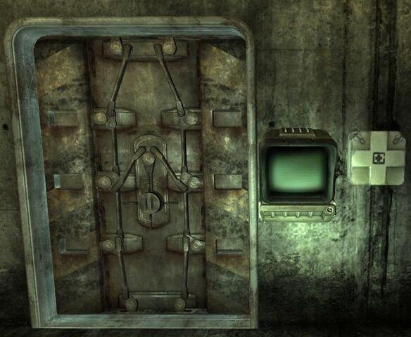 File:Arlington sewer locked basement door.jpg