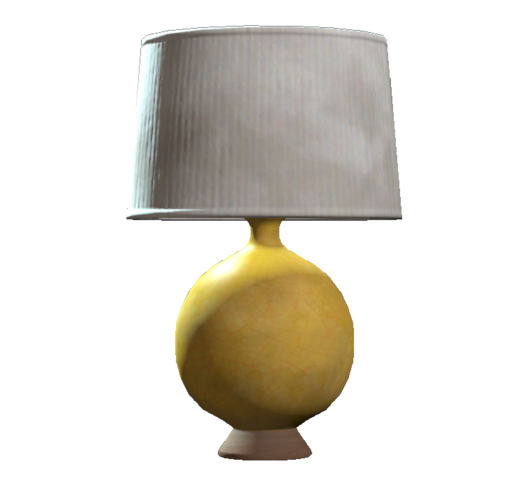 File:Yellow table lamp.png