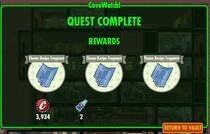 FoS CoveWatch! rewards