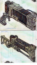Laser rifle CA2