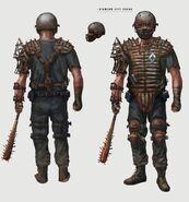 FO4 DC guard armor CA