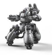 Sentry Bot Render Frontal 3Quarter View