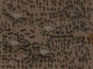 Den slave run village