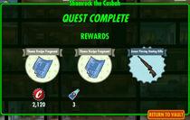 FoS Shamrock the Casbah rewards