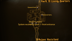 Vault 11 entrance map.png