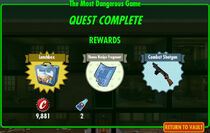 FoS The Most Dangerous Game rewards