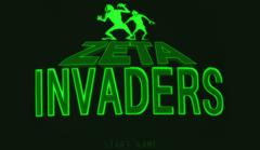 Zeta Invaders Menu