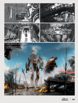 Airship attack concept art