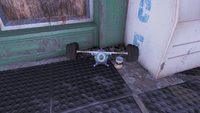 FO4 Boxing gym alien