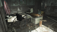 FO4 National Guard training yard desk