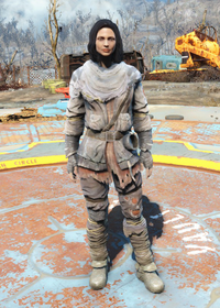 Fo4Tattered Field Jacket