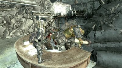 Dead Behemoth Receptionist