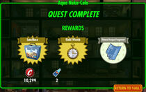FoS Aqua Nuka-Cola rewards
