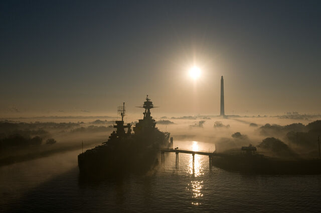 File:USS TexasSan Jacinto Park in Fog.jpg