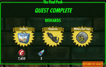 FoS The Final Push rewards