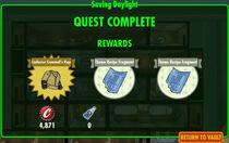 FoS Saving Daylight rewards