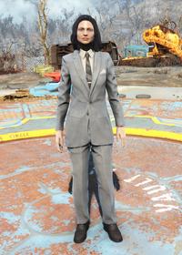 Fo4Clean Grey Suit