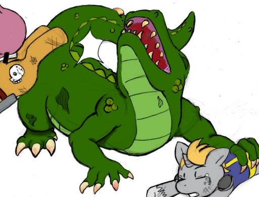 File:Radigator being bucked.png