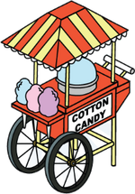 Building-cotton-candy-stand