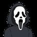 Facespace portrait ghostface