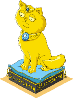 Deco-royal-cat-statue