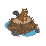 Decoration beaver thumbnail@4x