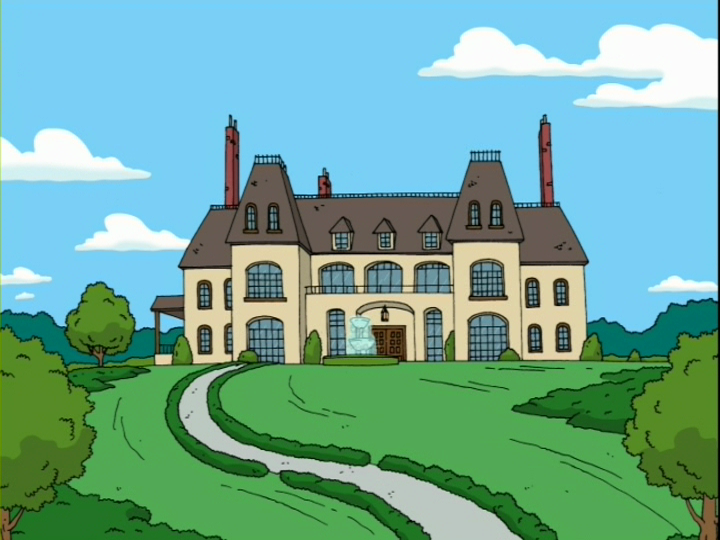 Carrot Top Manor   Family Guy Wiki   Fandom powered by Wikia Quagmire And Meg