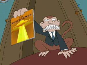 Evil Monkey JW