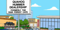 Quahog Hummer Dealership