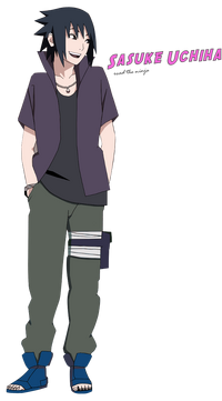 Sasuke uchiha road the ninja by rokkx-d5h4d4x