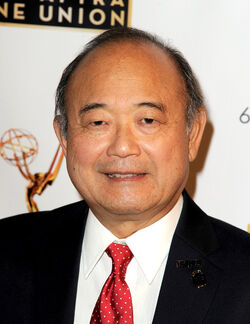 Clyde Kusatsu (at the Emmys)