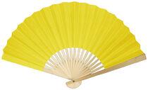 Fold fan yellow1