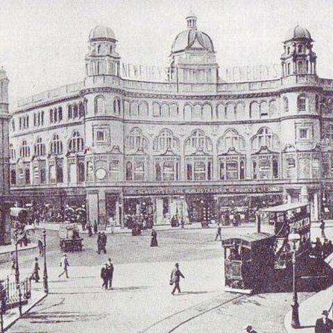 Nettleford Square, 1950 (demolished in 1966, rebuilt 2041)