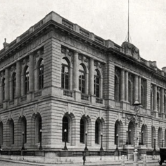 The MP offices near Centre Square in Stonebrook; the building still stands, albeit note that it was very significantly damaged in WWII