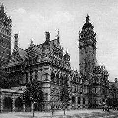 The Stonebrook Law Courts, based heavily on the Ambrose Hill baths, built by the same architect in 1894. It still stands today.