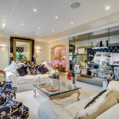 A flat in Petersbury, reportedly the most expensive tower block apartment in history, renovated in 2020 by consummate and bespoke interior designers, but note that this was mostly done in order to get the <i>Best tower block in England</i> award, in which they achieved second.