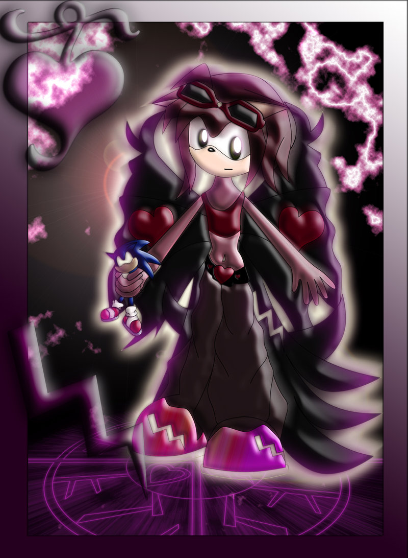 Dark Amy Rose Tailskid26 S Universe Fan Fiction