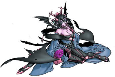 Lilithmon Burst Mode