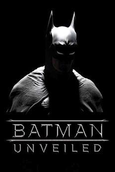 Batman Unveiled Poster