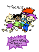 New tommy pickles the terrible twos cover by babysmurfrock-d9imhx9