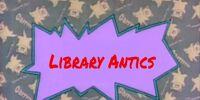 Library Antics (Babysmurfrocks Series)