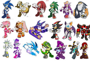 Sonic Riders Characters
