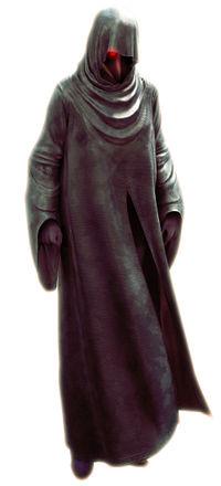 Azrael in cloak