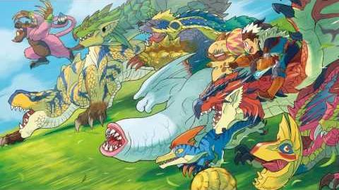 Monster Hunter Stories OST - Field Battle