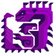 Poison Ludroth Icon by Chaoarren