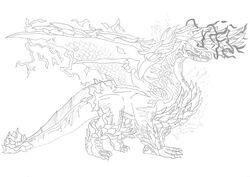 Alatreon (Conquest War) by Ukanlos Subspecies