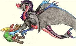Shadow Cantios Render by Rathalosaurus rioreurensis