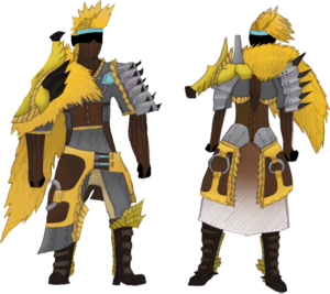 Aqui Blademaster Armor