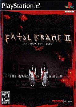 Fatal Frame II - Crimson Butterfly (PlayStation2 Cover)